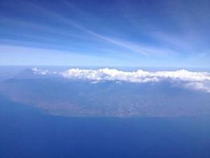 Arriving in Bali