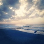 A surfer's paradise...