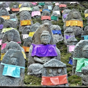 #Colorful #landscape on the way to the #Japanese #shrine ~ #Kyoto