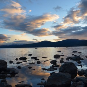 The #beauty of #Lake #Tahoe is #amazing! #nature #sunset #beach #water #tranquility #happiness