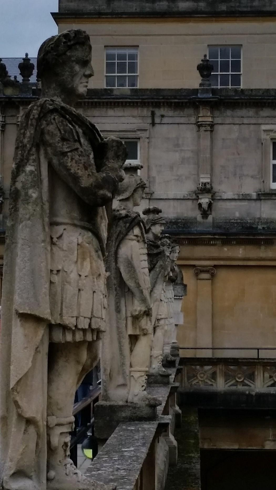 Stone Sculptures of Bath