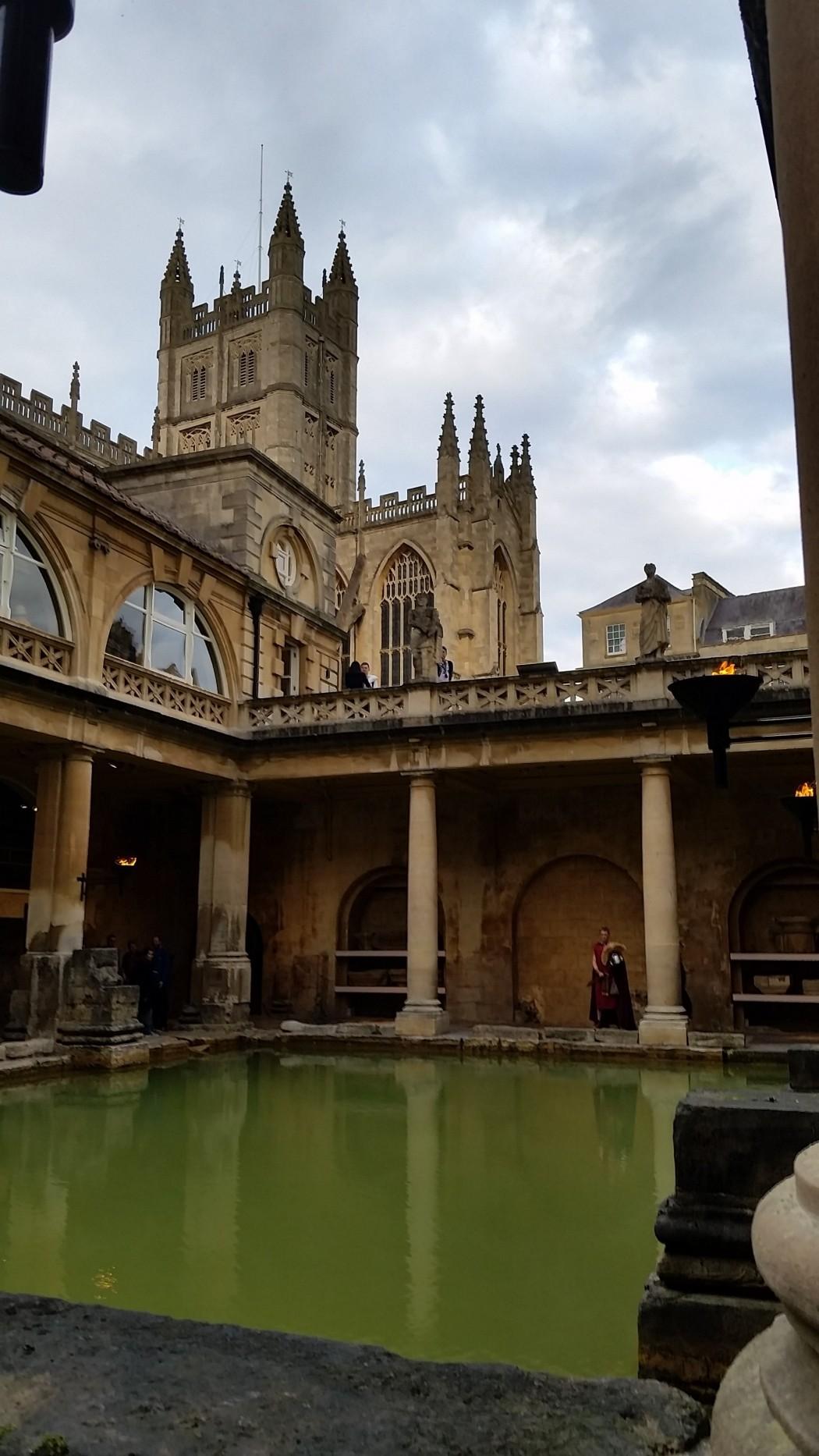 Touring the Baths